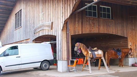 Tierarzt, Schmied und Benutzung Infrastruktur